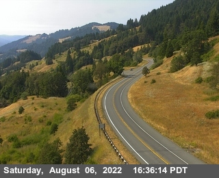 Berry Summit Vista Point webcam on State Route 299, Humboldt County in Northern California!