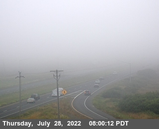 Spruce Point webcams on Highway 101, Humoldt County in Northern California.