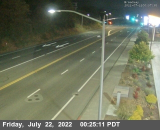 US-101: Eureka / Vigo - Looking South