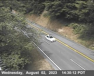 Cushing Creek webcams on Highway 101, Del Norte County in Northern California.