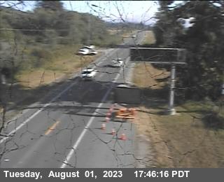 Smith River webcam on Highway 101, Del Norte County in Northern California!
