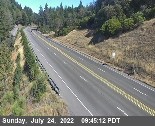US Route 101 Cameras at Ridgewood Summit, Mendocino County in Northern California!