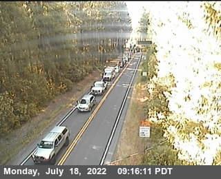 Webcam on State Route 199, Humboldt County in Northern California!