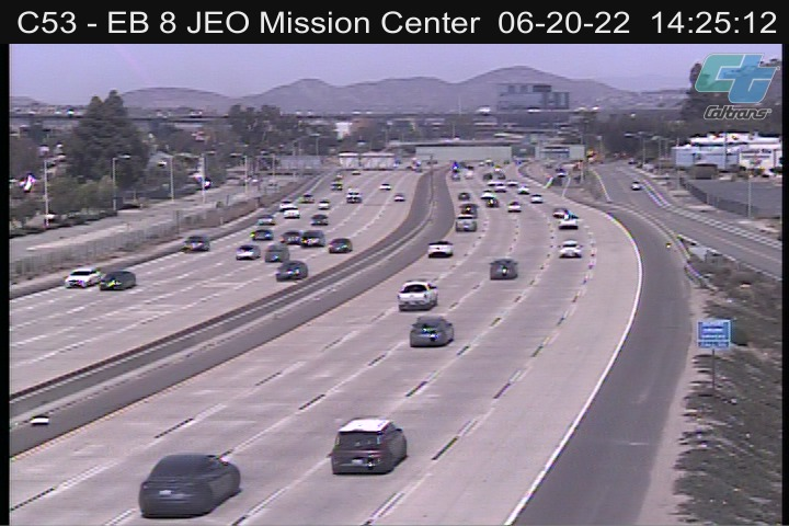 EB 8 JEO Mission Center Rd
