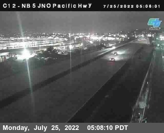 (C 012) NB 5 : Just North Of Pacific Highway