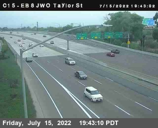 (C015) I-8 : Just West Of Taylor Street