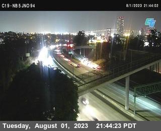 (C019) NB 5 : Just North Of SR-94