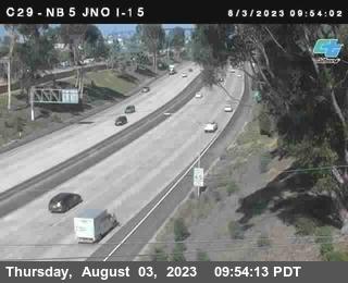 (C029) I-5 : Just North Of I-15