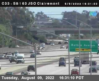 (C033) SB-163 : Just South Of Clairemont Mesa