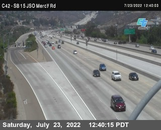 (C042) I-15 : Just South Of Mercy Road