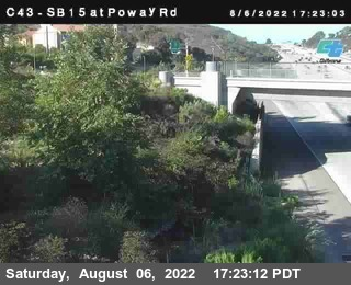 (C 043) I-15 : Just South Of Poway Road