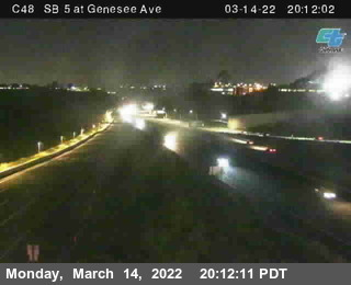 (C 048) I-5 : Just North Of Genessee