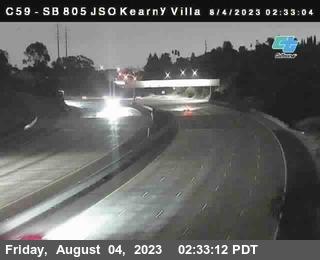 (C059) I-805 : Kearny Villa Road