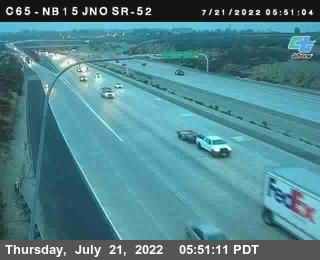 (C 065) I-15 : Just North Of SR-52