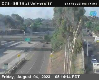 (C073) I-15 : University Avenue