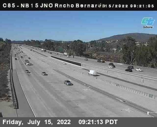 (C085) NB 15 : Just North Of Rancho Bernardo Road