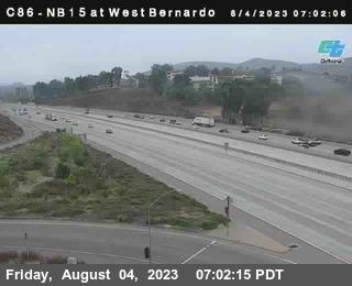 (C 086 )I-15 : West Bernardo Drive / Pomerdo