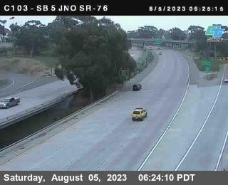 (C 103) I-5 : Just North Of SR-76