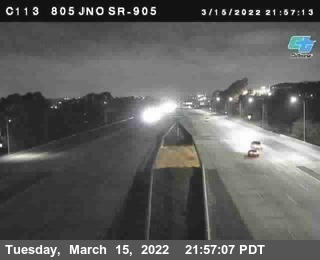 (C113) I-805 : Just North Of I-905