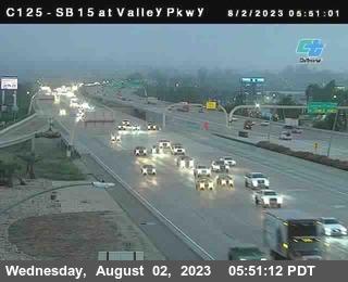 (C125) I-15 : Valley Parkway