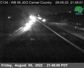 (C134) SR-56 : Just East Of Carmel Country Road