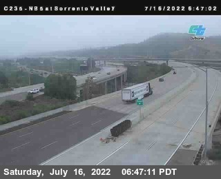 (C235) I-5 : Just South Of Sorrento Valley Road 1