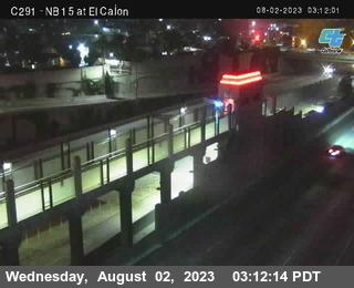 (C291) NB 15 :  El Cajon Blvd