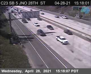 I-5 : Just North Of 28th Street
