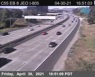 I-8 : Just East Of I-805