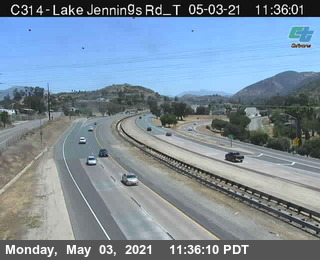 I-8 : Lake Jennings B