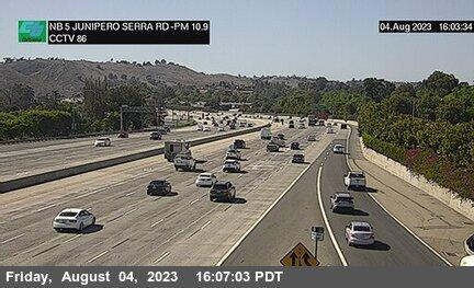 I-5 : Junipero Serra Road