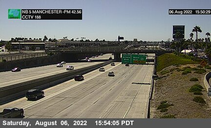 I-5 : Manchester Avenue (South of Stanton)