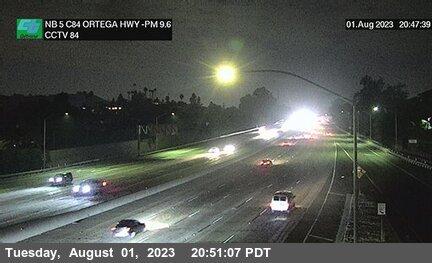 I-5 : Ortega Highway