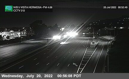 I-5 : Vista Hermosa