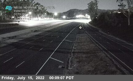 SR-133 : North of Irvine Boulevard Overcross
