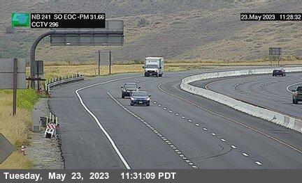 SR-241 : 1400 Meters North of North Culver Drive