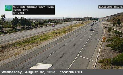 SR-241 : 40 Meters North of Portola Parkway