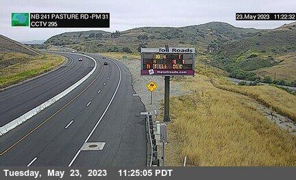 SR-241 : 430 Meters North of North Culver Drive
