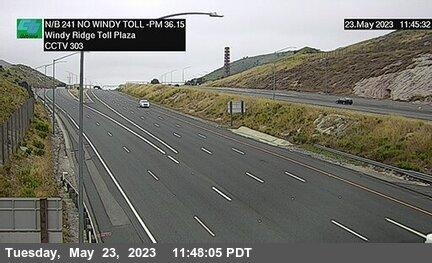 SR-241 : 600 Meters North of Windy Ridge Toll Plaza