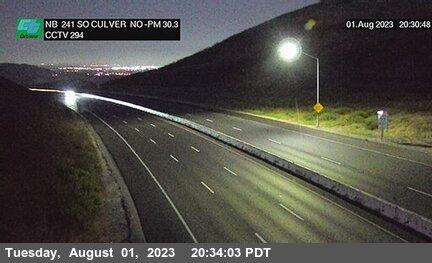 SR-241 : 600 Meters South of North Culver Drive