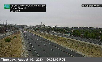 SR-241 : 80 Meters South of Portola Parkway Undercross