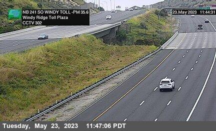 SR-241 : 920 Meters South of Windy Ridge Toll Plaza