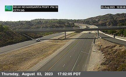 SR-241 : North of Santa Margarita Parkway Undercross