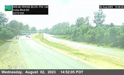 SR-261 : 70 Meters South of Irvine Boulevard Overcross