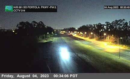 SR-261 : 80 Meters South of Portola Parkway (West) Overcross