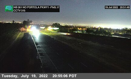 SR-261 : 940 Meters North of Portola Parkway (West) Overcross