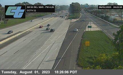 SR-55 : Del Mar Avenue