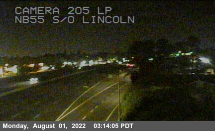 SR-55 : South of Lincoln