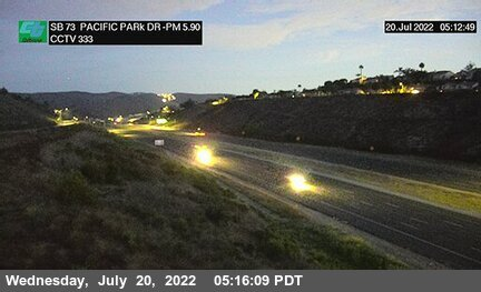 SR-73 : Glenwood Drive Overcross