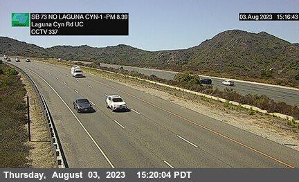 SR-73 : North of Laguna Canyon Road Undercross B